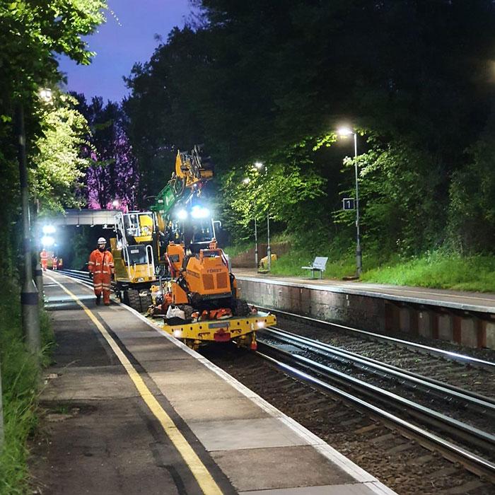 rail clearance